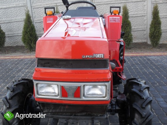YANMAR FX 265  26 KM 4X4 wspomaganie mini traktor kubota ładowacz TUR - zdjęcie 2