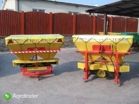 Rozsiewacz nawozów Tornado Duo 850 L / 1200 kg - zdjęcie 3