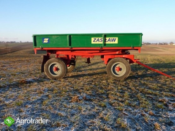 Przyczepa Rolnicza AUTOSAN D47D, WYWROTKA, 4,5T - zdjęcie 1