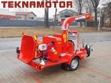 Mobile Holzhacker Skorpion 250SDT - TEKNAMOTOR