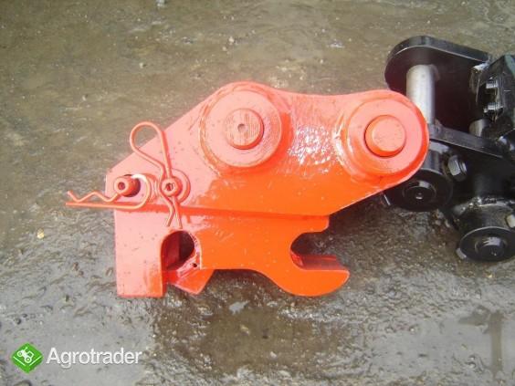 Szybkozłącza mini, midi koparki, koparko-ładowark - zdjęcie 1