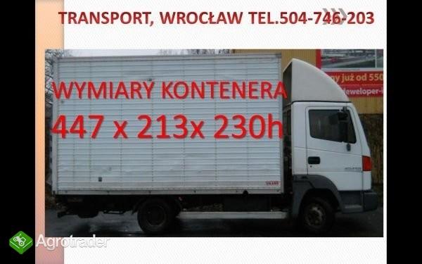 przewóz, transport samochodem z windą, Wrocław, wy - zdjęcie 1