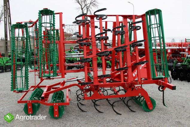 Agregat uprawowy hydrauliczny AGRO-MASZ hydraulicznie składane - zdjęcie 2