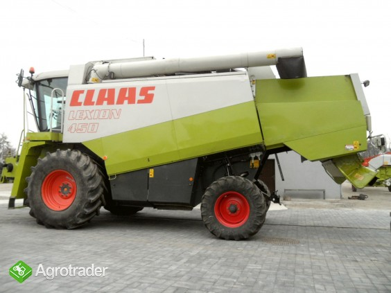 KOMBAJN CLAAS LEXION 450/1998r/STÓŁ 6m+wózek/silnik MB 275KM/ PL MENU - zdjęcie 2