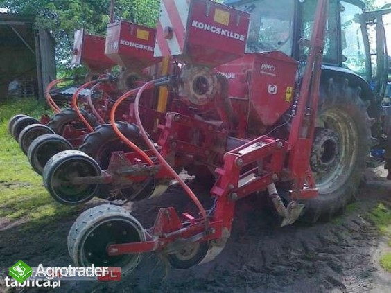 Siewnik KONGSKILDE PRECI 6rzęd, do kukurydzy, LUBELSKIE!!! buraków,dyń - zdjęcie 2