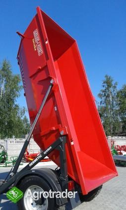 Przyczepa jednoosiowa Taczka  T 930 Ładowność 6T Metal-Fach - zdjęcie 5