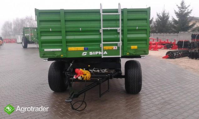 Przyczepa rolnicza Sipma EKO PR 600 - zdjęcie 3