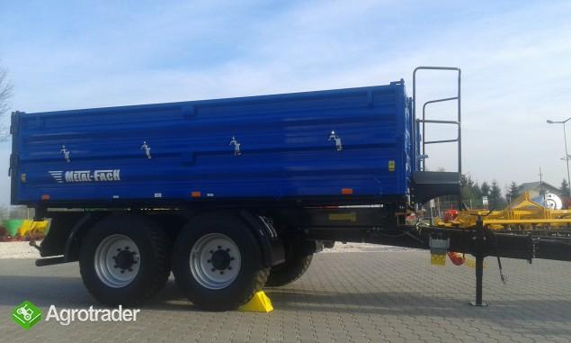 Przyczepa rolnicza ciężarowa firmy Metal-fach T730/1 8T