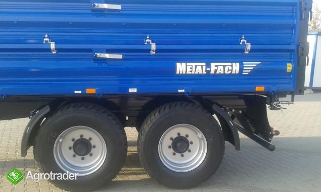 Przyczepa rolnicza ciężarowa firmy Metal-fach T730/1 8T - zdjęcie 6