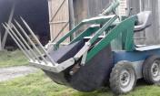 Miniładowarka 4X4 do obornika ładowarka ładowacz TUR traktor