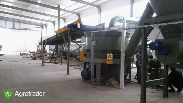 Projektowanie i wykonastwo pod klucz linii do produkcji pelletu, bryki - zdjęcie 1
