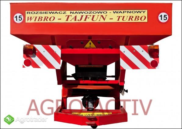 Rozsiewacz Nawozowo-Wapienny TAJFUN 1200 L NOWY Dexwal Agro-Activ