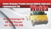 Przewóz maszyn rolniczych,holowanie samochodów 24h