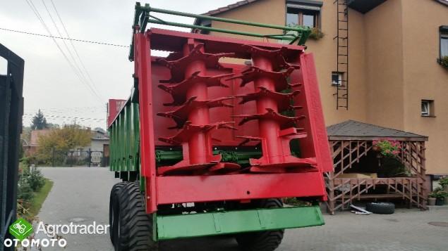 Coutand Twister Rozrzutnik obornika - zdjęcie 3