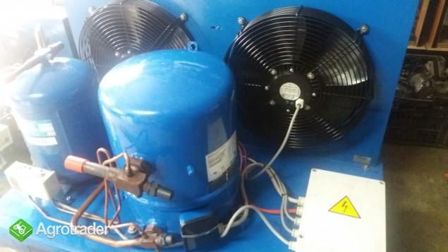 Agregat chłodniczy skraplacz sprężarka chłodnicza parownik zestaw  - zdjęcie 5