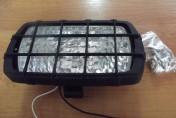 Lampa robocza plastikowa z kratką H3 12V/55W H3 24V/70W