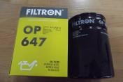 Filtr oleju URSUS C-330,C-330M,C-335,C-360, 1201, 1204 OP647 FILTRON