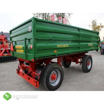Przyczepa rolnicza ciężarowa 6 ton HL 6011 jak nowa okazja - zdjęcie 2