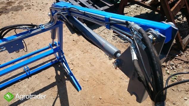 ładowacz TUR4 do mini traktora KUBOTA iseki Yanmar - zdjęcie 5
