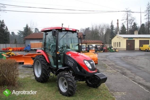 Ciągnik rolniczy komunalny pomocniczy TYM T 503 nowy  sprzedaż - zdjęcie 1