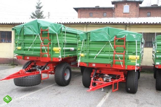 Pronar PT606 przyczepa rolnicza wywrotka trójstronna 6 ton promocja - zdjęcie 2