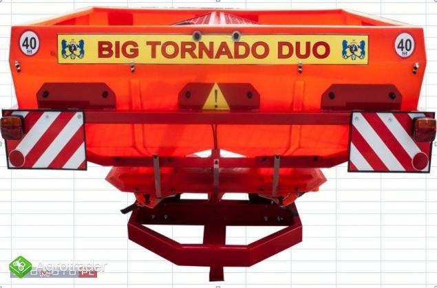rozsiewacz nawozów TORNADO DUO 600l 850kg 2018