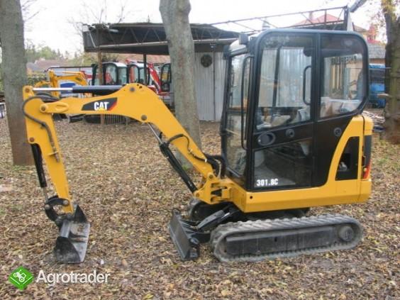 Sprzedaż minikoparek Kraków - CAT 3018C 2008
