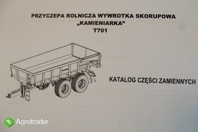Katalog PRONAR Część Zamiennych, Instrukcje Obsługi - Przyczepy - zdjęcie 6
