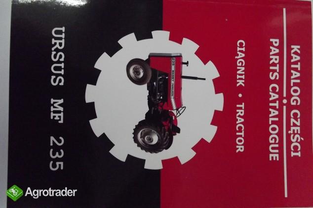 Katalog części zamiennych MF 235
