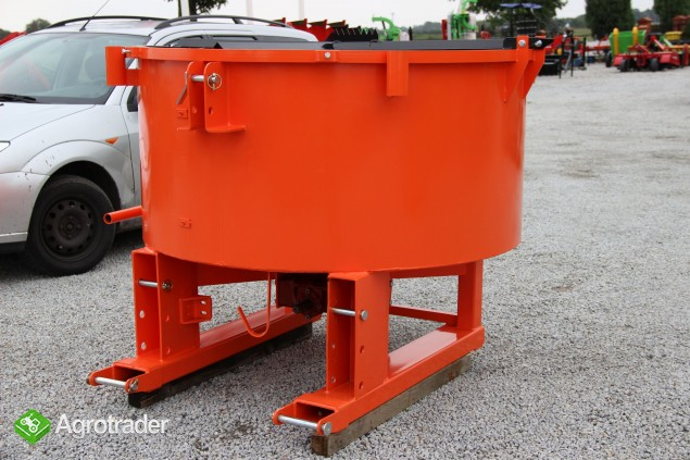 Betoniarki betoniarka ciągnikowa mixer Agro- Factory - zdjęcie 3