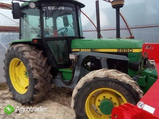 John Deere 2850 TL bogata wersja od rolnika napęd 4x4 - zdjęcie 1