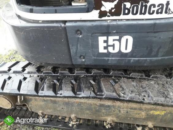 Koparka Bobcat E50 z 2013 roku - sprzedam - zdjęcie 3
