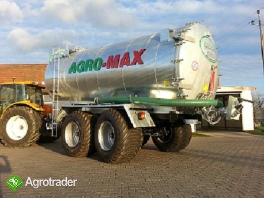 Beczkowóz wóz asenizacyjny tandem agro-max  - zdjęcie 2