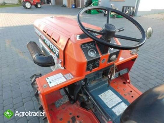 Kubota B1702 17KM 4x4 mini traktor super stan Iseki Yanmar Hinomoto - zdjęcie 2