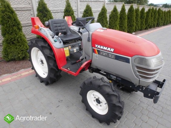 Yanmar AF18 super stan kubota iseki mini traktor - zdjęcie 5