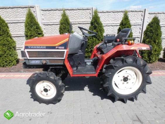 Yanmar F155 Super stan mini traktor iseki kubota hinomoto - zdjęcie 2