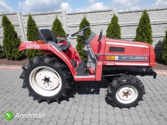 Mitsubishi MT16 super stan mini traktor kubota iseki - zdjęcie 2