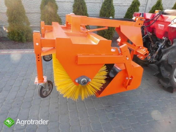 Zamiatarka nowa do mini traktorka kubota iseki shibaura - zdjęcie 5