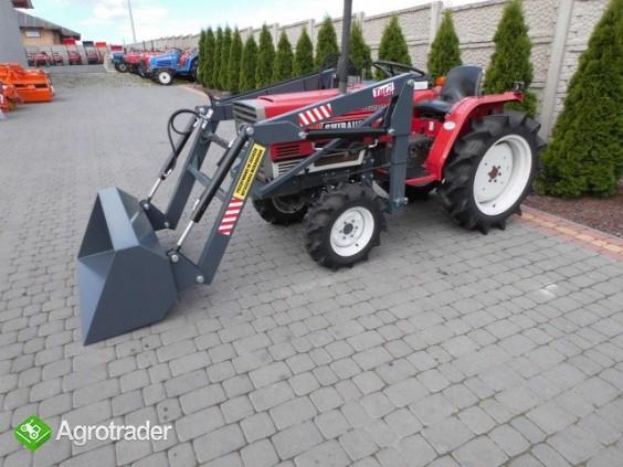 Shibaura P17 4x4 17 PS ładowacz czołowy TUR mini traktor - zdjęcie 3