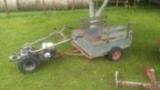 Traktorek kosiarko-spycharka