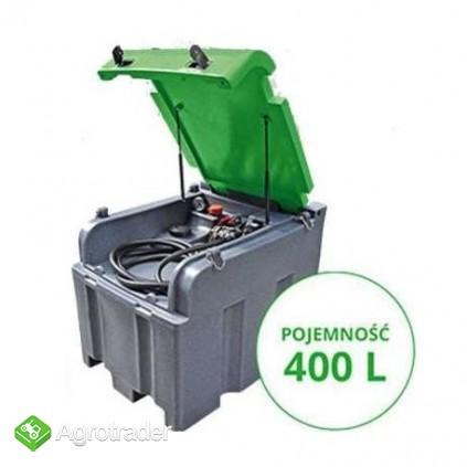 Zbiornik do transportu paliwa FORTIS BOX ON 400l 200l  - zdjęcie 1