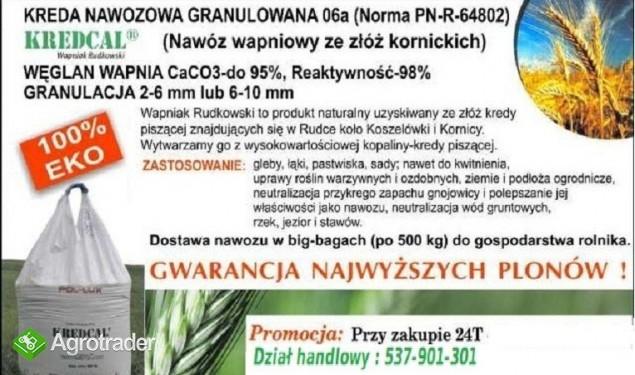 KREDCAL Kreda Nawozowa 06a  KORNICA granulat 100% eco