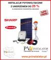Instalacje fotowoltaiczne z 25 % umorzeniem pożyczki