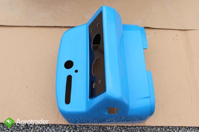 Maska ciągnikowa maska do ciągnika Ursus C360 C-360 niebieska  - zdjęcie 3