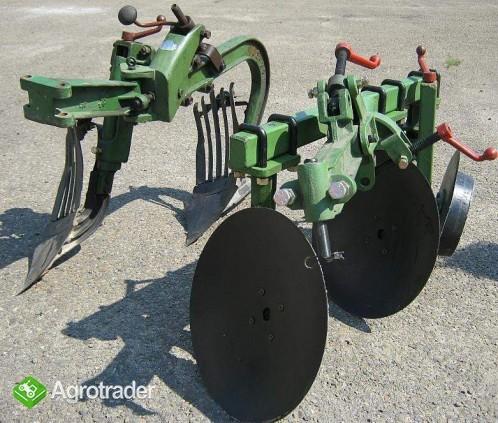 Ciągnik jednoosiowy, traktor z glebogryzarką  24 KM, silnik Diesla - zdjęcie 5