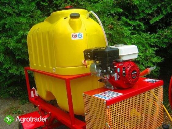 Opryskiwacz  do wózków widłowych ładowarek kołowych, 400L, 6,5 kM,  - zdjęcie 3