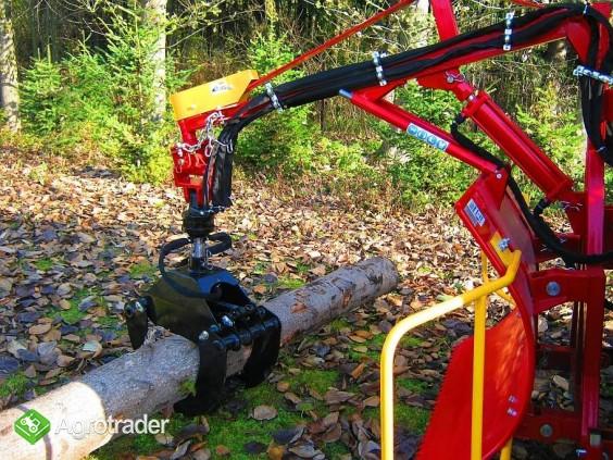 CHWYTAK ZRYWKOWO-ZAŁADOWCZY DO DREWNA DO CIĄGNIKóW min.18 hp - zdjęcie 5