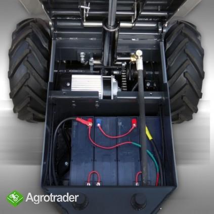 WOZIDŁO MSK-350, silnik elektryczny 750W/48V, udźwig 500 kg - zdjęcie 7
