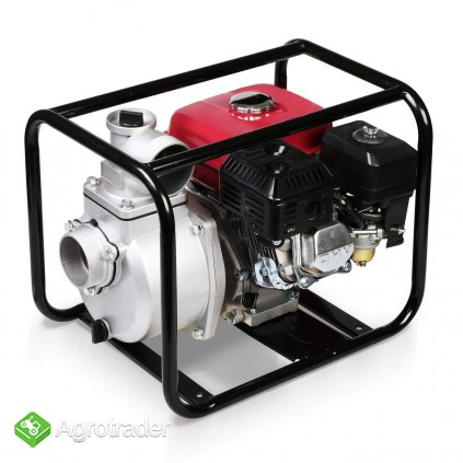 MOTOPOMPA spalinowa 60.000 L/ H. Silnik 6,5 kM - zdjęcie 1