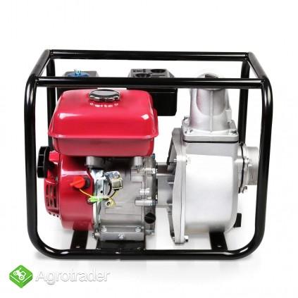 MOTOPOMPA spalinowa 60.000 L/ H. Silnik 6,5 kM - zdjęcie 2
